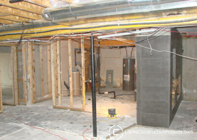 basement bedroom build