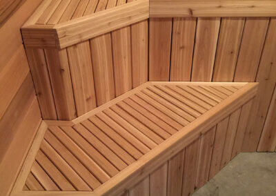 custom built benches by clarke construction projects
