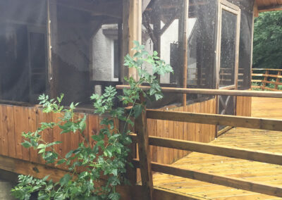 deck and railings