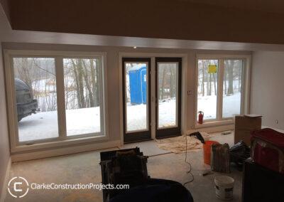 new basement windows and doors