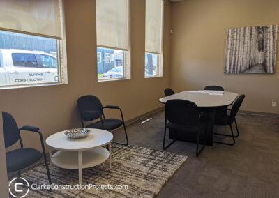 office reception renovation