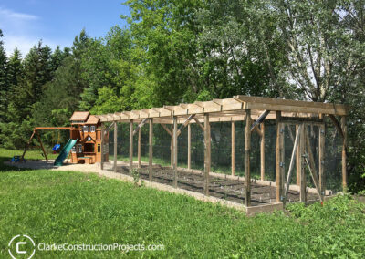 raised garden beds built by clarke construction projects