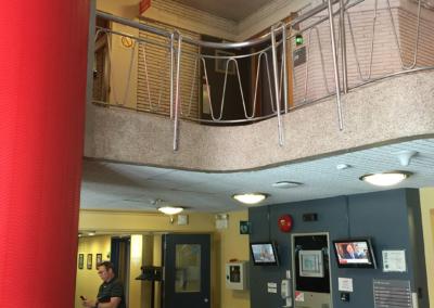 stainless steel railings installation