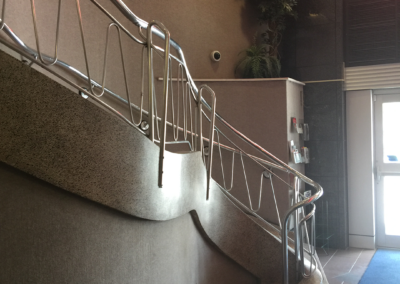 staircase and railings construction by clarke construction projects