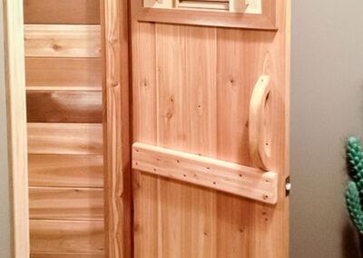 Residential Sauna