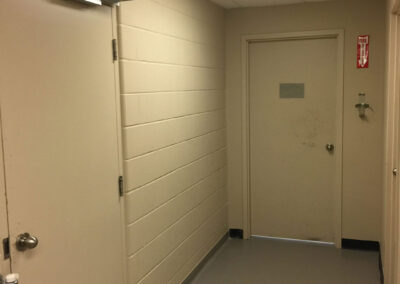 After - commercial flooring and painting by winnipeg constractor clarke construction projects