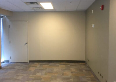After - flooring, carpeting, painting by winnipeg contractor clarke construction projects