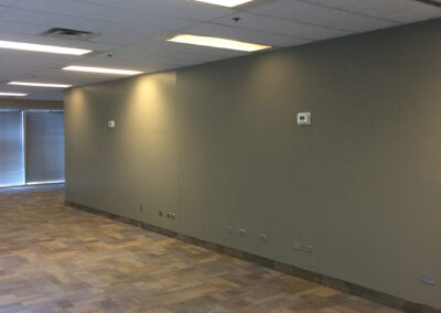 Final photo of IBM Office renovations by Clarke Construction Projects