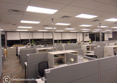 new office space built by clarke construction projects