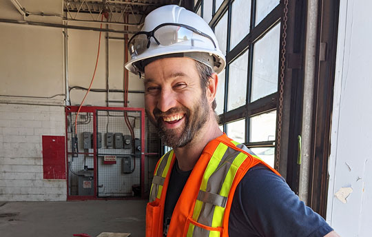 Rhett Walford Site Manager Clarke Construction Projects