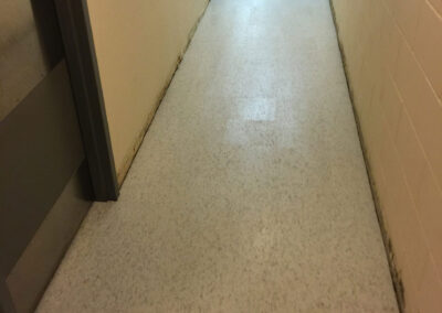 basement flooring repairs and installation by clarke construction projects