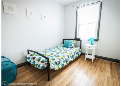 Bedroom remodel by clarke construction projects