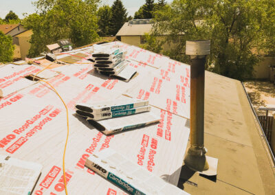 New roof by clarke construction projects