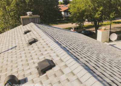 New shingles by clarke construction projects