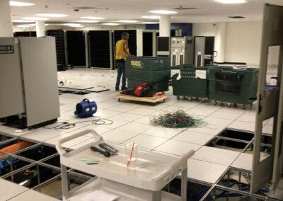 Progress shot - commercial renovations