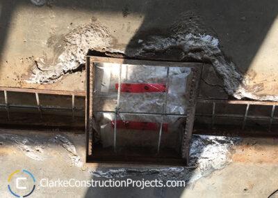 construction rebar concrete