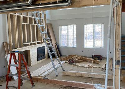 Open floor plan built by Clarke Construction-Projects
