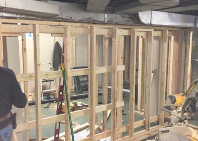 basement finishing