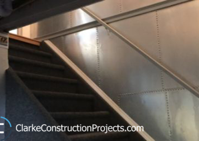 basement remodel by clarke construction projects