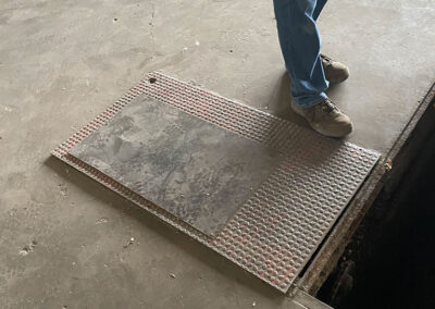 clarke construction company does concrete work