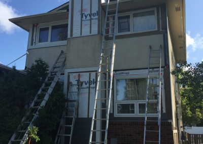 clarke construction projects does exterior renovations