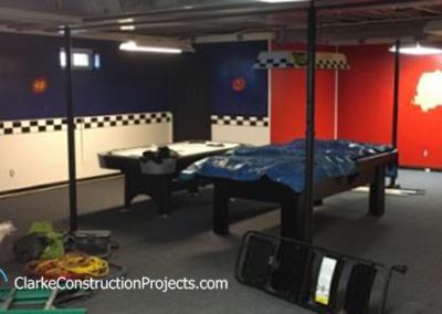 companies who build basement recrooms