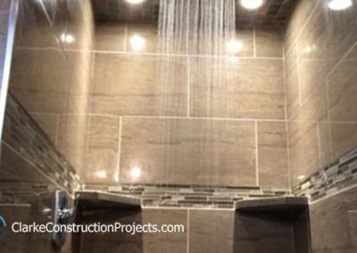 companies who build custom showers