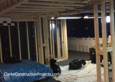 custom basement finishing