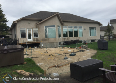 deck leveling