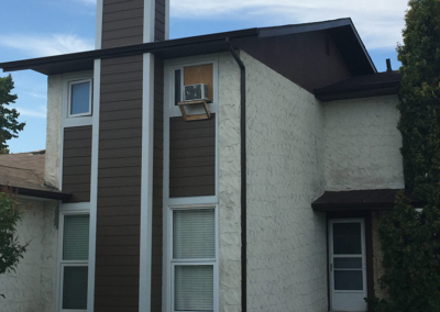 exterior painting by clarke construction projects