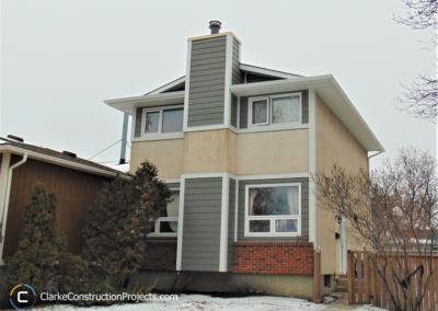 exterior stucco and siding