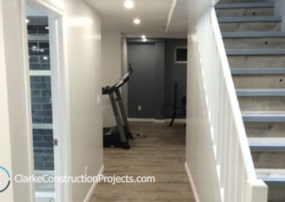 finished basement by clarke construction projects