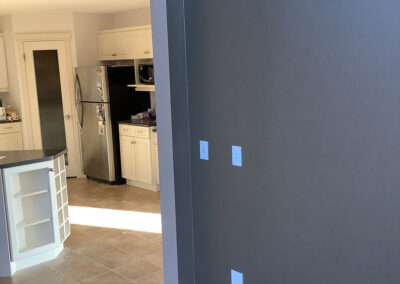 New paint home renovations by Clarke Construction Projects