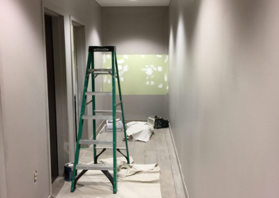 painting entry hallway