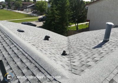 roofing and shingles by clarke construction projects