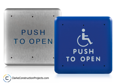 automatic door opener for accessible renovations